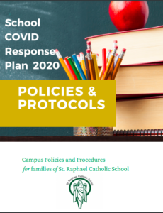 Image of the cover of the SRS COVID Response Plan 2020